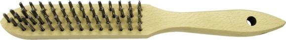 Alarm Handbürste stahldraht, 290 mm