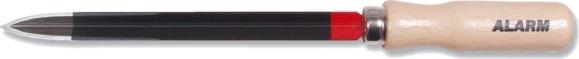 Dreikant-hohlschaber, 125 mm