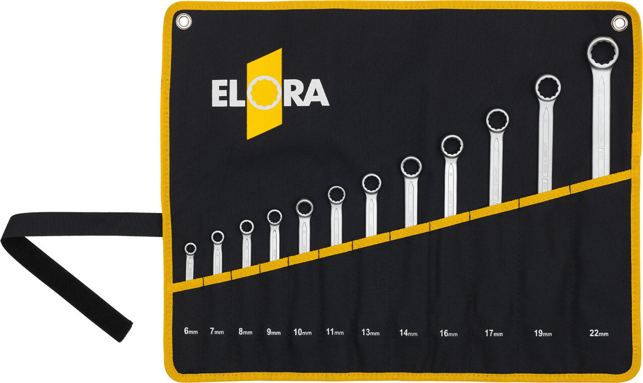 ELORA Combination Spanner Set, 16-pcs. 6-32 mm, ELORA-203S 16MT