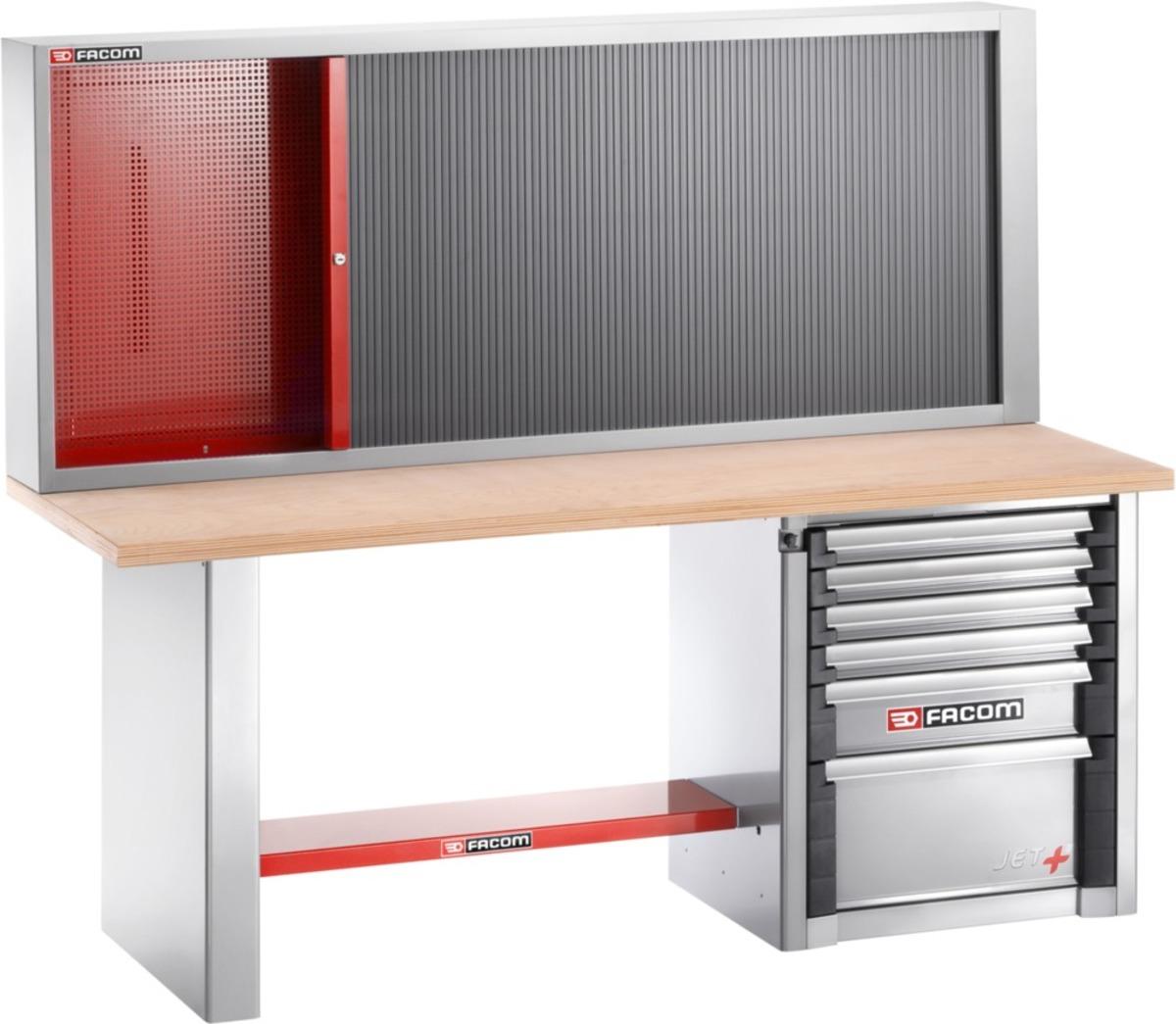 FACOM Werkbank mit Werkzeugschrank für schwere Lasten | 6 ...