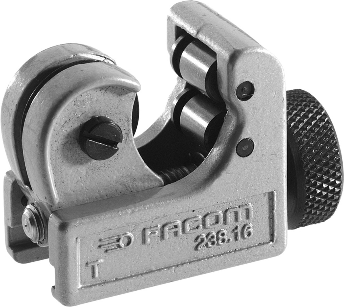 Kleiner Rohrschneider für Kupferrohre | grau