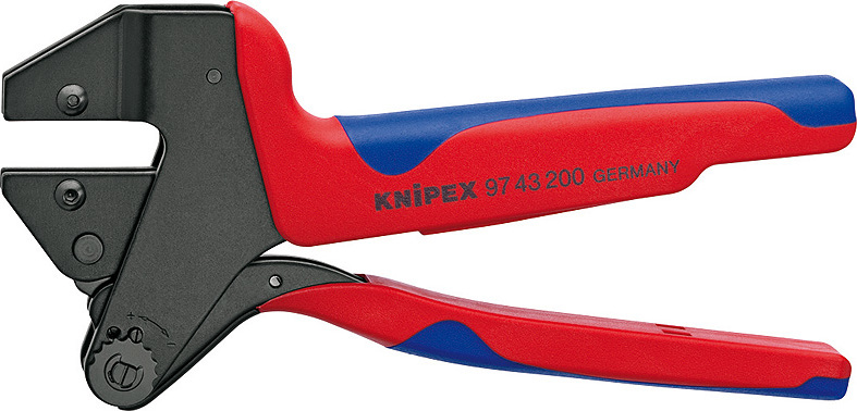 KNIPEX Crimp System Pliers for exchangeable crimping dies 200 mm