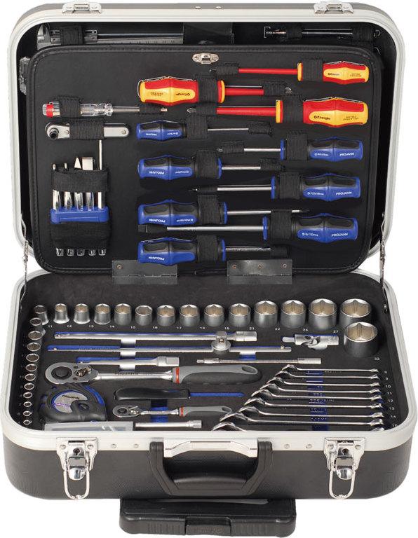 Werkzeugtrolley Set 130tlg