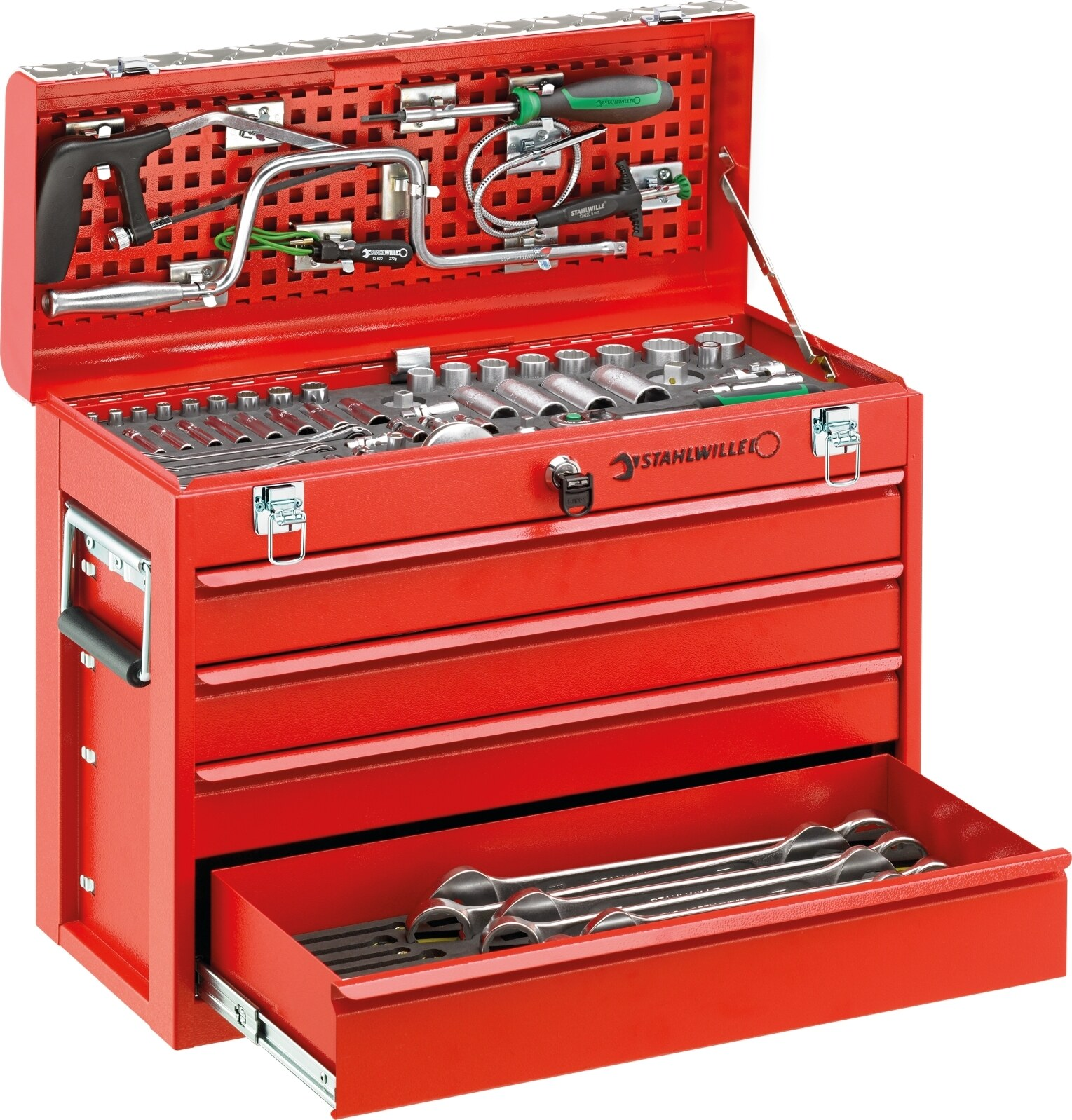 Stahlwille Line maintenance set in tool box No.13214 122-pcs.