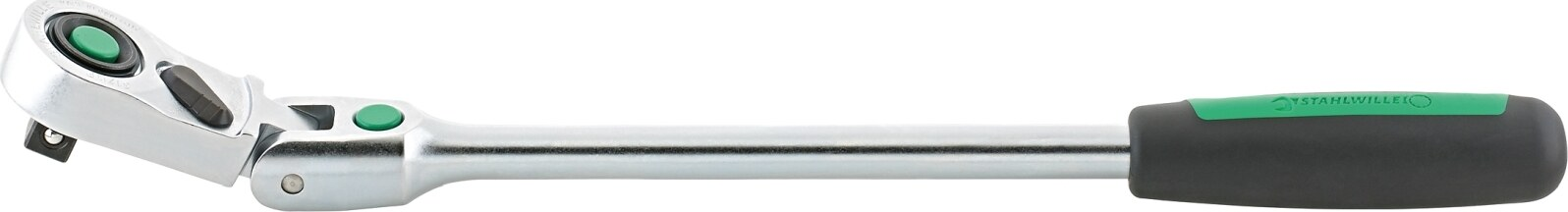 "Stahlwille 12,5 mm (1/2"") QuickRelease fine-tooth flexible-joint ratchet WA.4.5 ° L.416 mm"