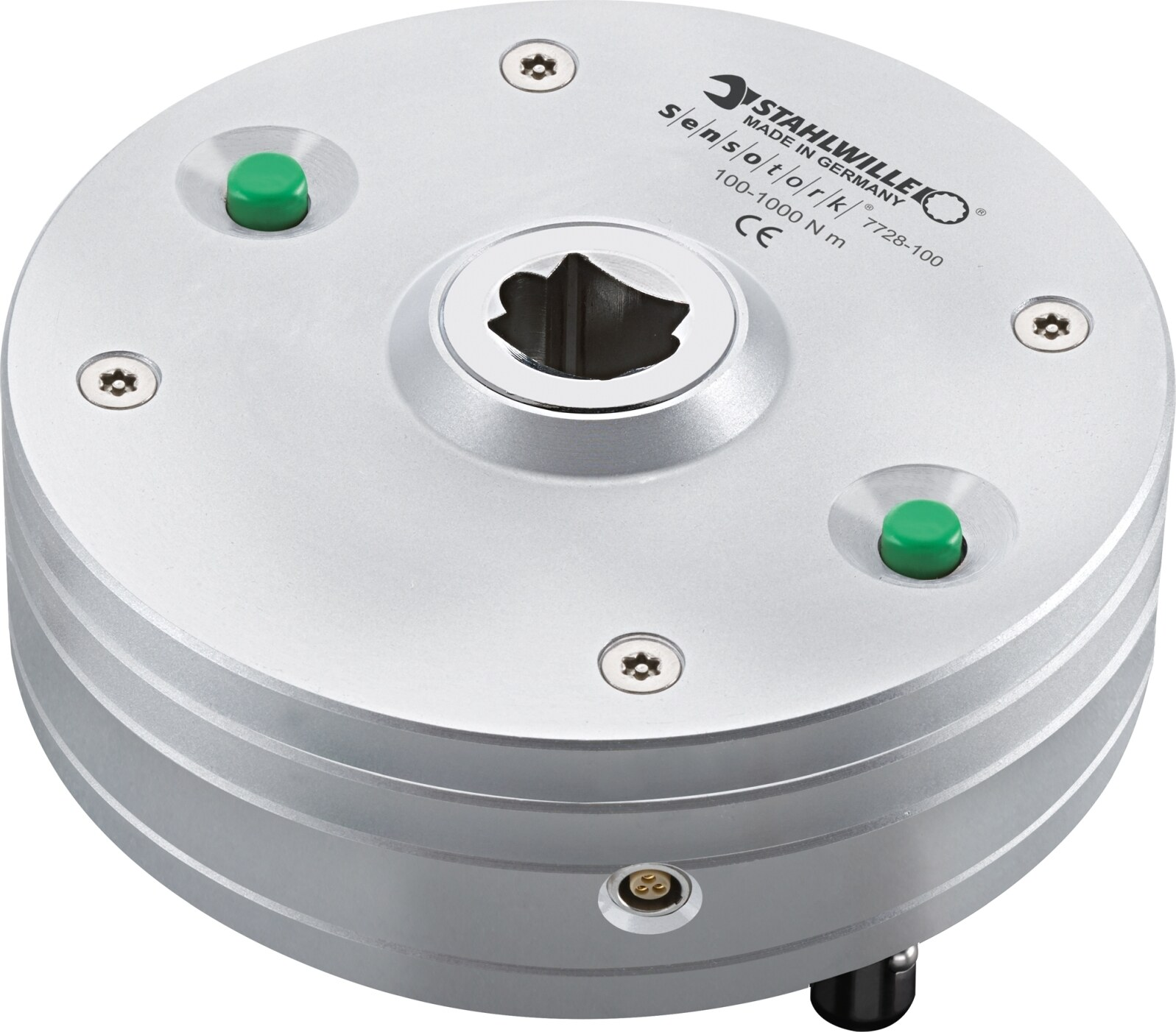 Stahlwille Transducers laboratory variance+- 0.5 Prozent value 80-800 N·m 59-590 ft·lb 708-7081 in·lb inside square 3/4