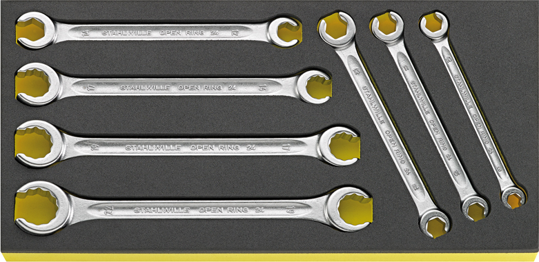 Stahlwille TCS 24/7, 8x10-19x22 mm Double ended ring spanners 7 pcs. in TCS inlay, No st_tcs_1_3_str.jpg