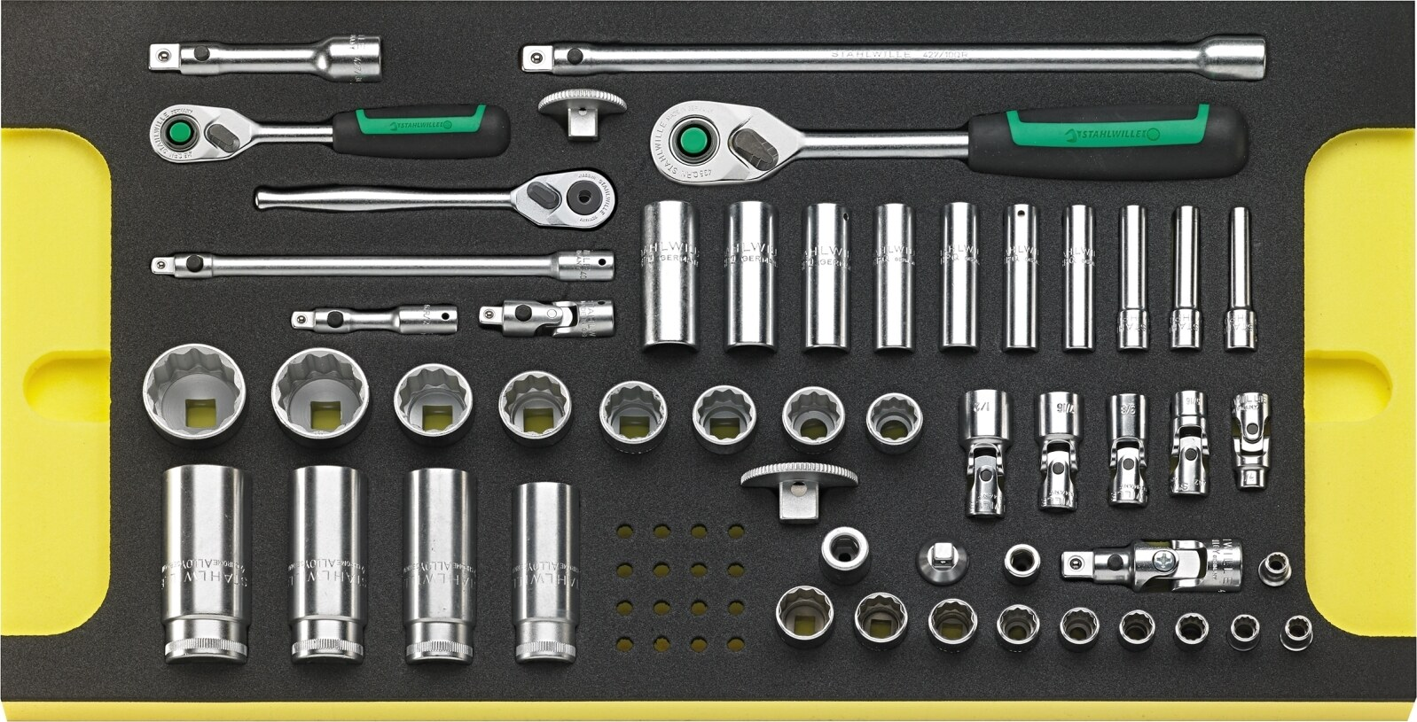 Stahlwille Line maintenance set in tool trolley No.13214A WT/LR 122-pcs., No TCS_13214_WT_LR_TCS_13214a_WT_LR_96830102.jpg