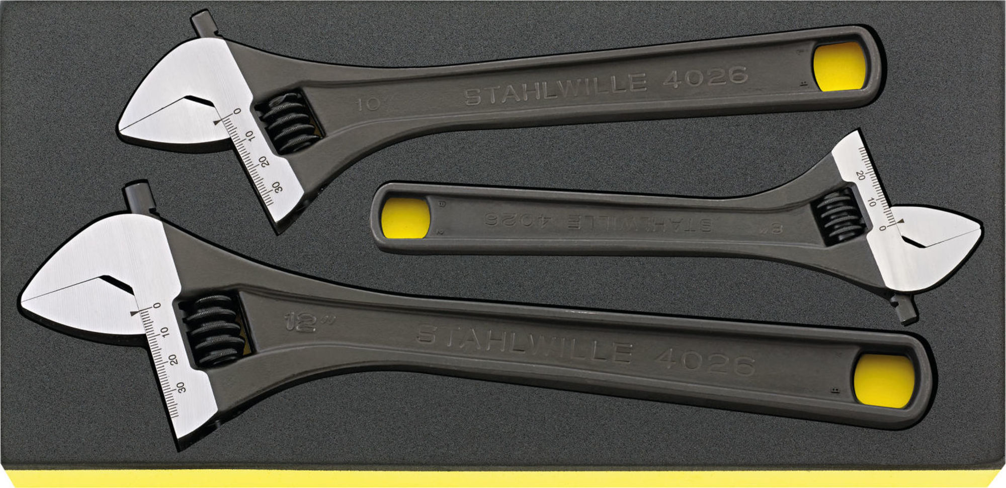 Stahlwille Single-end spanners i.TCS inlay No.TCS 4026/3 1/3 3-pcs.