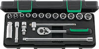 "Stahlwille 456/13/5 Socket set 3/8"" Square   291,25 EUR254.41 £180,58 EUR 157.73 £ incl. VAT., +  16,60 EUR shipping"